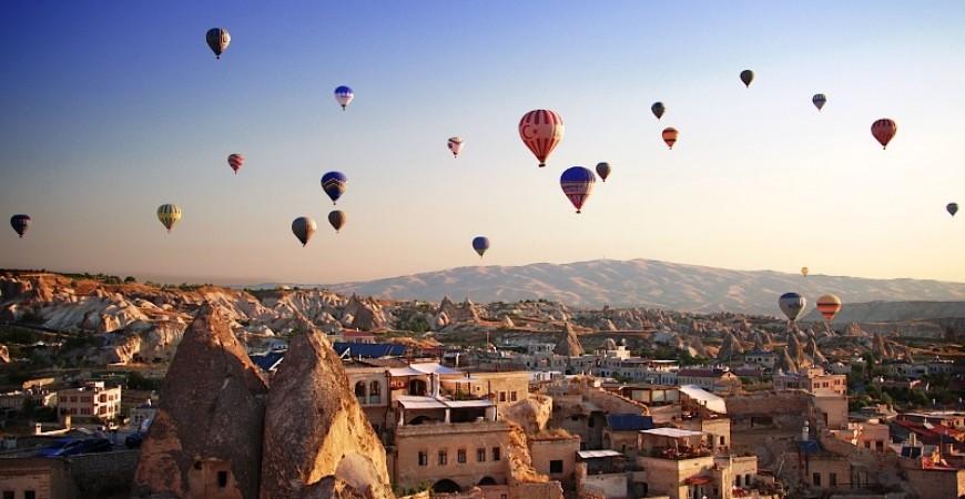 Ride a Balloon in Cappadocia