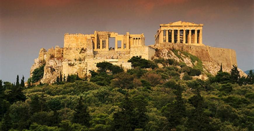 Wonder at the Greek Ruins