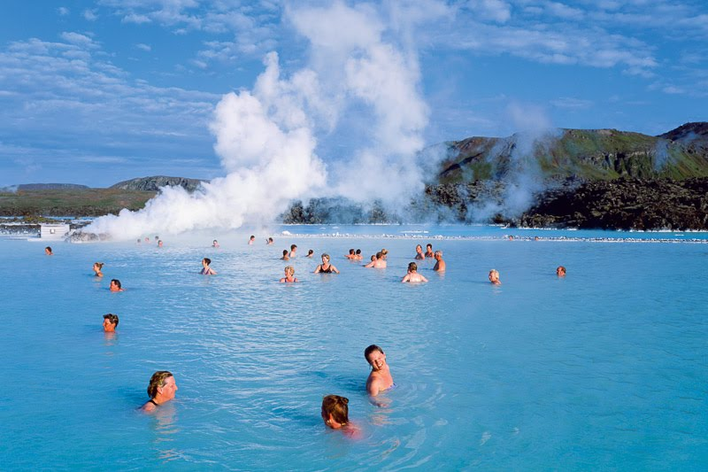 Dip in Iceland's Blue Lagoon
