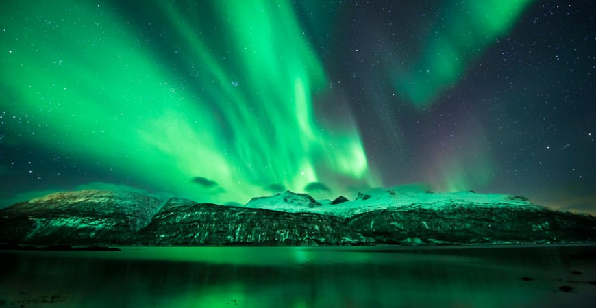 Witness Norway's Northern Lights