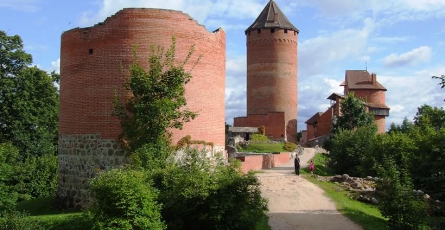 Head Towards Turaida Castle