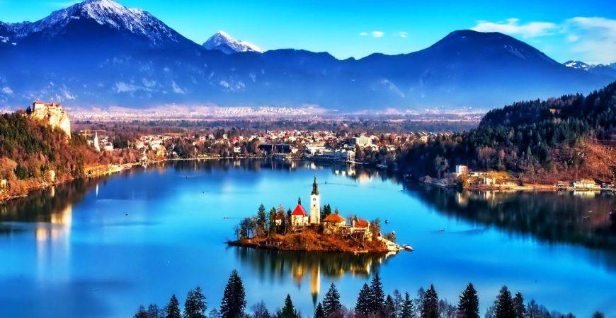 Take in Lake Bled's Fairy Tale Scene in Slovenia