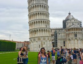 Travelling to Venice, Verona, Florence, Pisa, Milan Italy